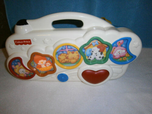 Fisher Price Toy, Musical & Nature Sounds for Crib, 1999