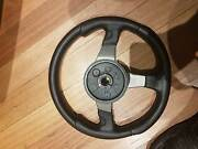 Monocorse leather steering wheel Mordialloc Kingston Area Preview