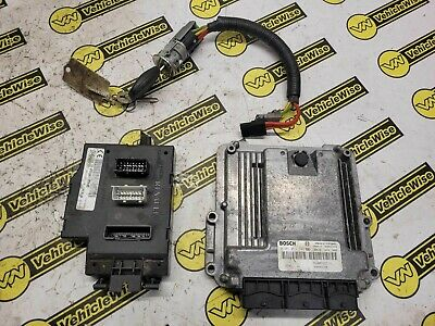 2001-2014 RENAULT TRAFIC MK2 2.0 DCI ECU BCM & IGNITION BARREL W/ KEY 8200666516