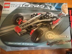 2002 Lego Racers G-Force Slammers Set With Box 8470 Lockleys West Torrens Area Preview