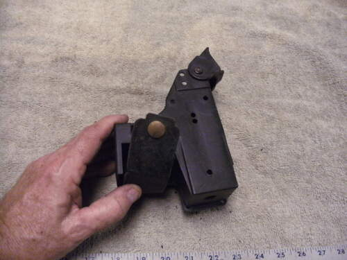 Black Plastic Duty TAZER Holster with extra Cartridge Holder Attached,Trade in
