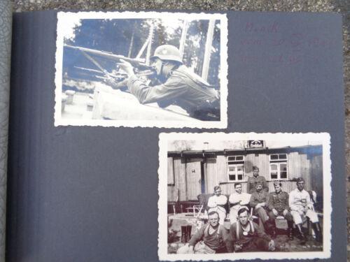 WW2 ORIGINAL WWII GERMAN PHOTO Album military .