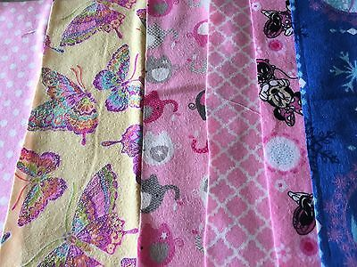 Fabric Flannel  Girls 10 X 10 Layer cakes 33 / -