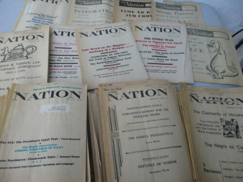 Black Americana Civil Rights Black Panthers Jim Crow Racism BLM 1950s+