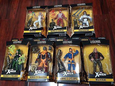 IN STOCK!  LOT of 8 X-Men Marvel Legends 6-Inch Wave 2 BAF Warlock SET NEW 2017