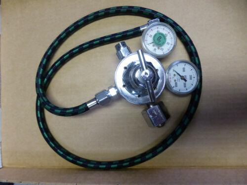 McKesson Medical, Dental Oxygen Tank regulator, H size tank pressure reducer