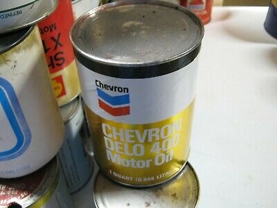 VINTAGE OIL CAN COLLECTION SELL OUT FREE SHIPPING Chevron #2
