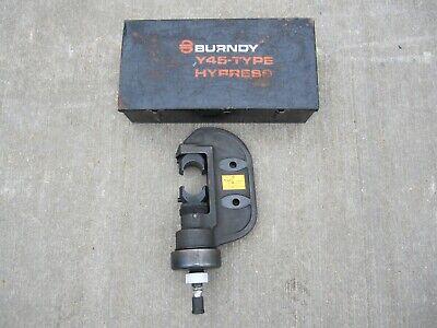 Burndy Y45 Hypress 12 Ton Hydraulic Hypress Crimper 5700-6000 Psi