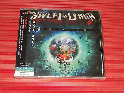2017 JAPAN CD SWEET & LYNCH UNIFIED with Bonus Track