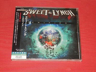 2017 JAPAN CD SWEET & LYNCH UNIFIED with Bonus Track