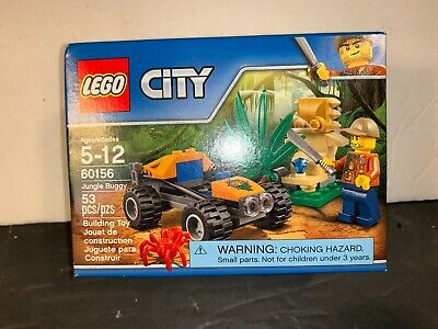 NEW Retired Lego City Jungle Buggy 60156. 53 Pcs New in an Undamaged Sealed Box.
