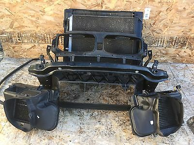 BMW E70 X5 FRONT CLIP AC FAN TURBO RADIATOR BUMPER RE BAR ENGINE OIL COOLER OEM