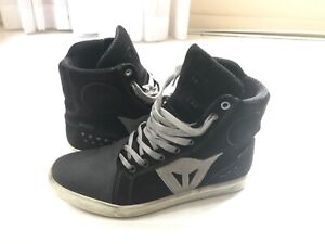 Dainese Street Biker D-WP Womens Shoes Black/Anthracite Size 40