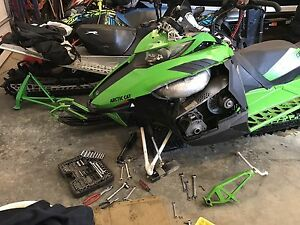 ISO 2014 Arctic Cat M8 A arms and Spindles