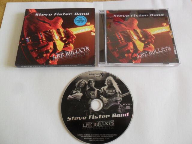 Steve Fister Band - Live Bullets (CD 2007) ROCK /GERMANY Pressing