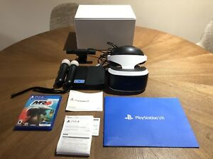 COMPLETE SONY PSVR BUNDLE FOR SALE!