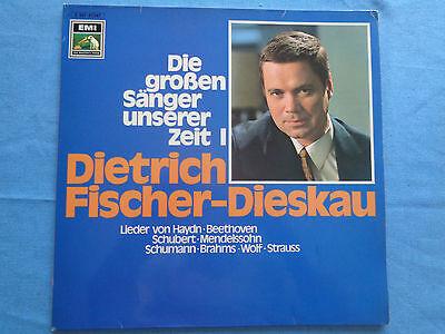 Dietrich Fischer-Dieskau :  Die großen Sänger unserer Zeit - EMI Langspielplatte