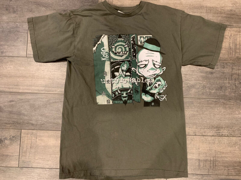 Korn 2002 Pop Sux Concert Tour Shirt (Large) Untouchables