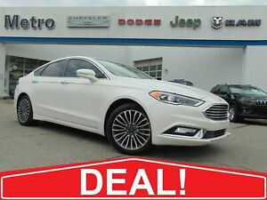 2017 Ford Fusion SE - AWD & Fully Loaded