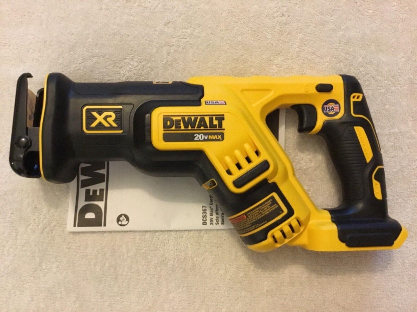 New Dewalt DCS367B 20V 20 Volt Max XR Brushless Variable Spe