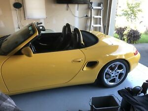 2000 Porsche boxster S 6 speed