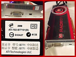 ATI-102-B77101B Radeon Video Card for 08-09 Mac Asking 350 OBO