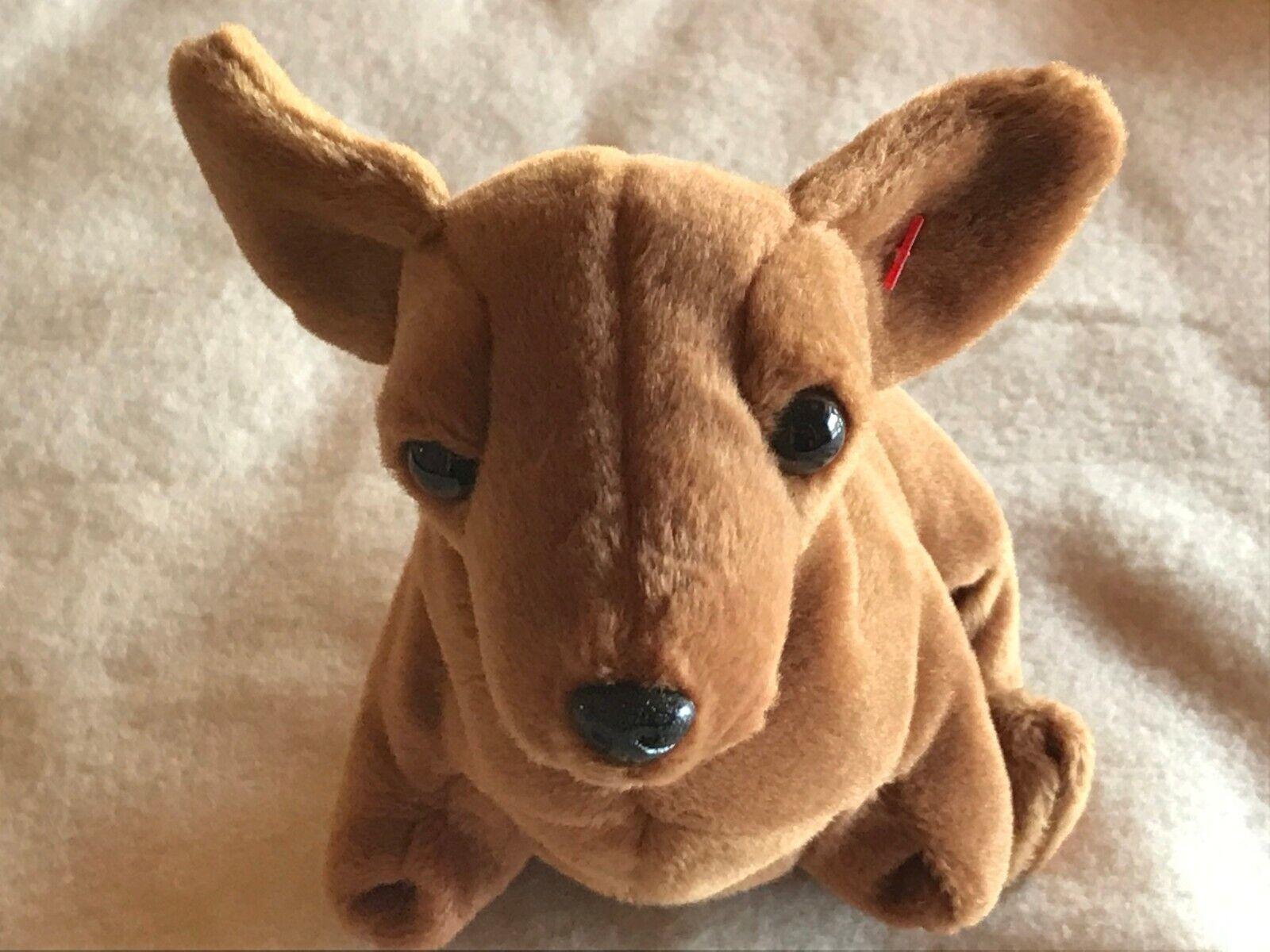 weenie the dachshund beanie baby 1995 retired