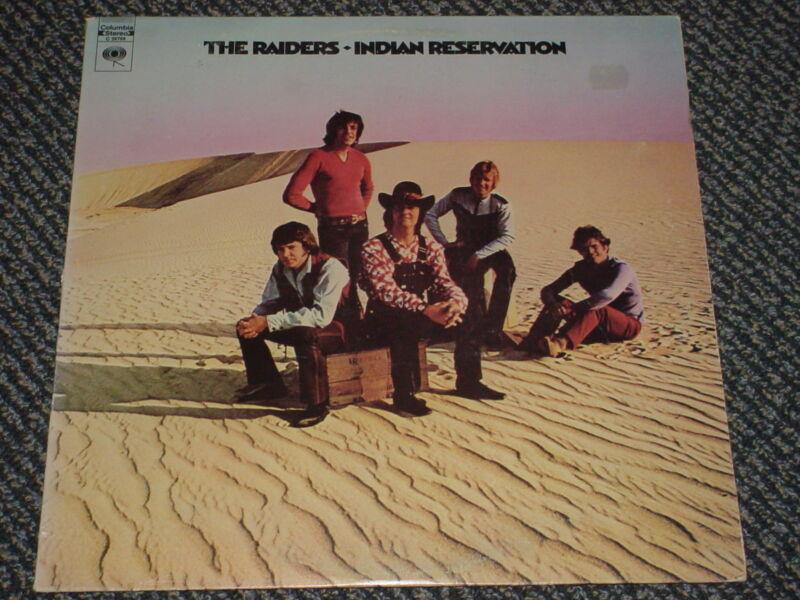 THE RAIDERS - INDIAN RESERVATION - OOP 1971  C 30768 LP VG+ VG