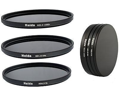 Haida ND Graufilterset ND8x, ND64x, ND1000x -  77mm inkl. Stack Cap