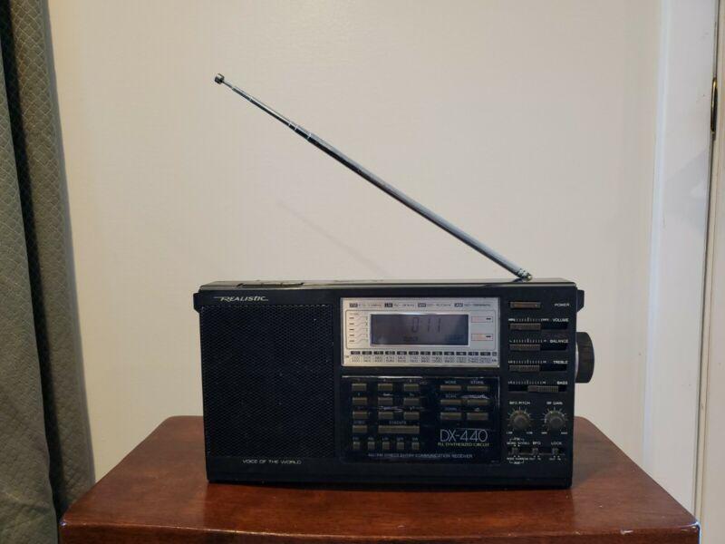 Realistic DX-440 AM/FM Direct Entry Communications Receiver Shortwave LW/MW/SW