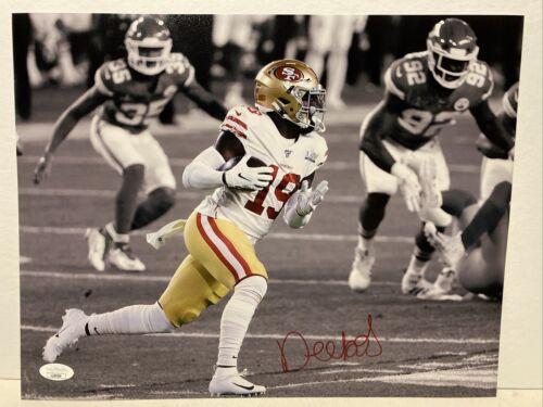 Deebo Samuel Signed San Francisco 49ers 11x14 Photo JSA - $149.99