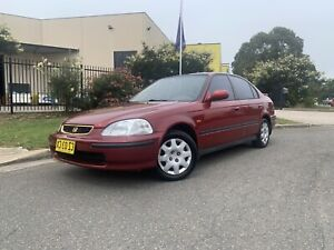 1998 Honda Civic GLi 1.6L Sedan Auto Low Kms 3Months Rego