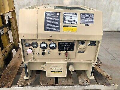 2006 3kw Diesel Military Generator Tactial Quiet Emp Proof Mep831a 457 H0urs