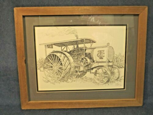 TWIN CITIES 40 TRACTOR ART PRINT - FRAMED by artist MARIANNE LISSON-KUHN