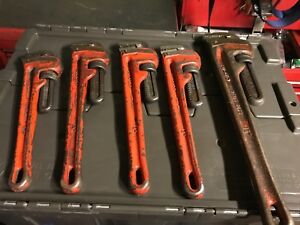 Ridgid Pipe Wrenches for sale!!