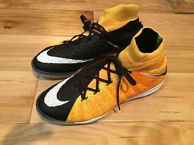 Nike Hypervenom X Proximo II Indoor Soccer Shoes IC - 9.5 cleats ACC flyknit 6755fd824a3ec