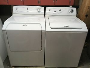 Maytag top load washer and front load dryer