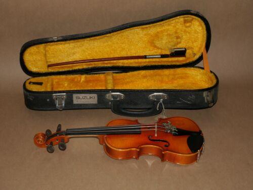 1974 Kiso Suzuki 1/16 size Violin No. 7 Made in Japan