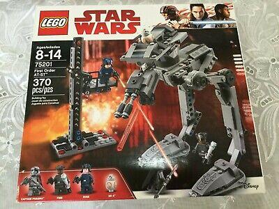 LEGO Star Wars First Order AT-ST 2018 (75201) Captain Phasma Finn Rose BB-8