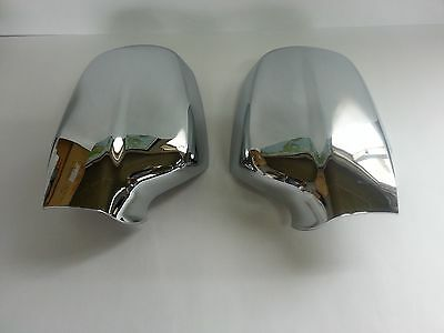 New Chrome SIDE MIRROR FULL COVER:2p MADE KOREA fit Hyundai TERRACAN 2001~2006