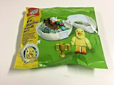 LIMITED EDITION LEGO EASTER CHICKEN SKATER POD 853958 - NEW & SEALED EGG BUNNY - Lego Easter Eggs