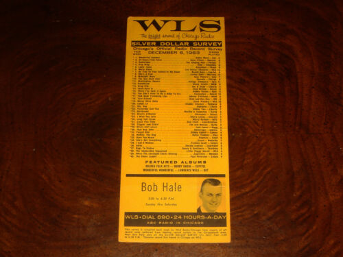December 6, 1963 WLS 890 SILVER DOLLAR SURVEY Chicago Radio Record Chart