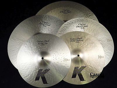 Zildjian KCD900 K Custom Dark 5 Cymbal Pack Box Set
