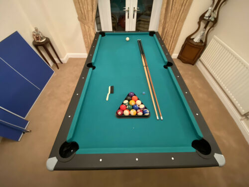 Pool Table + Table Tennis (USED BUT EXCELLENT CONDITION) - 200CM X 110CM