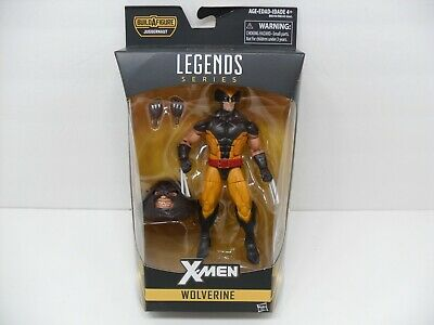 "2016 Marvel Legends X-Men ""Wolverine"" Brown Suit Juggernaut BAF Wave 6"" Figure"