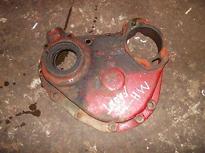 Massey Harris 22 Tractor Original Mh Engine Motor Front Cover Panel