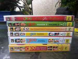 Glee dvds Complete series Caboolture Caboolture Area Preview