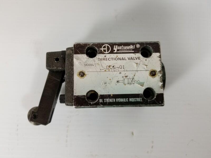 Yuatsuseiki Hydraulic DCG-01 Directional Valve