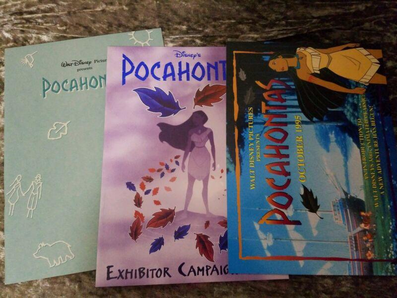 Pocahontas press kit - Walt Disney