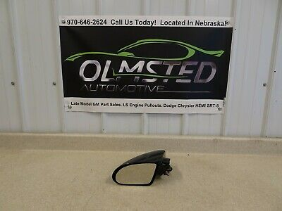 1993 2002 Chevy Camaro Driver Side Mirror Black OEM LH Left GM